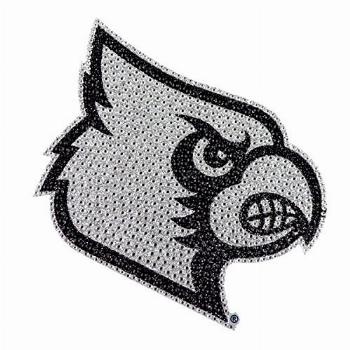 University of Louisville Large Bling Decal